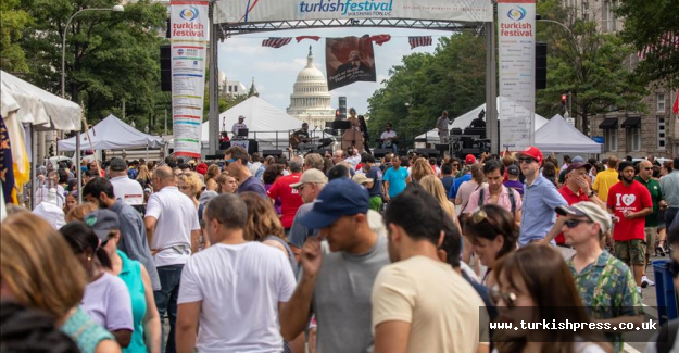Americans get taste of Turkish culture at DC festival