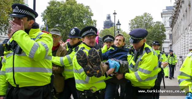 London: More than 200 arrested in climate protests