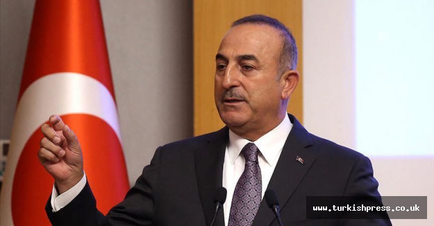 Turkish top diplomat accuses French leader of hypocrisy