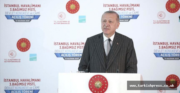 Istanbul Airport, a mark of Turkey's 2023 goals: Leader