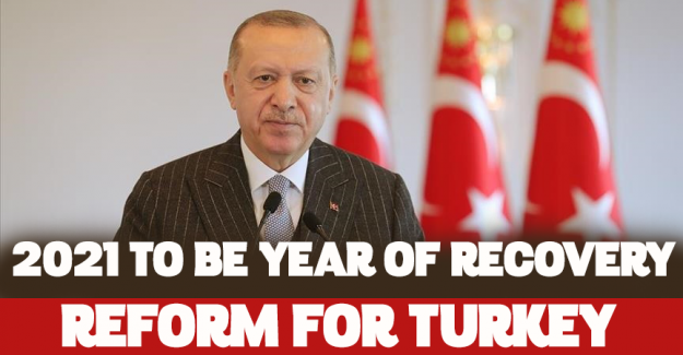 '2021 to be year of recovery, reforms for Turkey'