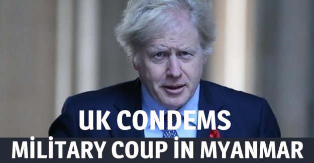 UK condemns military coup in Myanmar