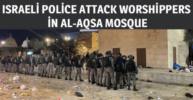 Israeli police attack worshippers in Al-Aqsa Mosque