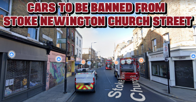 Cars to be banned from Stoke Newington Church Street