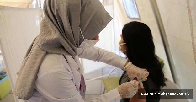 Turkey has administered over 103.01M vaccine jabs to date