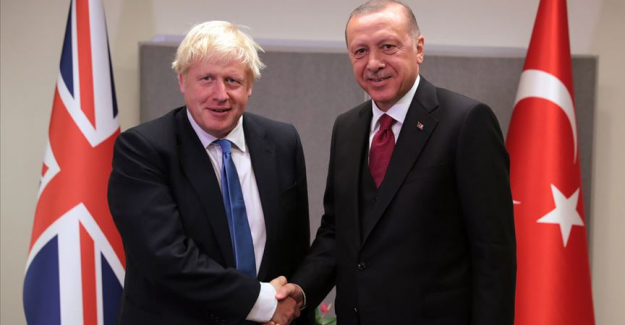 Erdogan, Johnson discuss Turkey's operation in N Syria