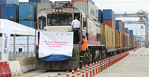 New rail line links Turkish port with China and UK