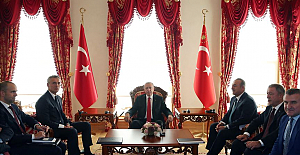 Turkish president receives NATO chief in Istanbul