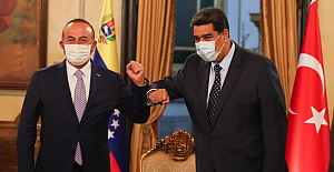 Turkish FM visits Venezuela to strengthen ties