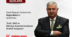 İsrail, BAE ve Bahreyn arasında imzalanan İbrahim Anlaşması