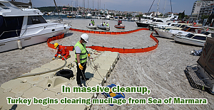 In massive cleanup, Turkey begins clearing mucilage from Sea of Marmara