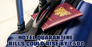 Hotel quarantine bills could rise by £500