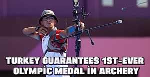 Turkey guarantees 1st-ever Olympic medal in archery