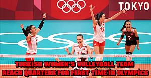Turkish women's volleyball team reach quarters for first time in Olympics
