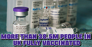 More than 38.5m people in UK fully vaccinated